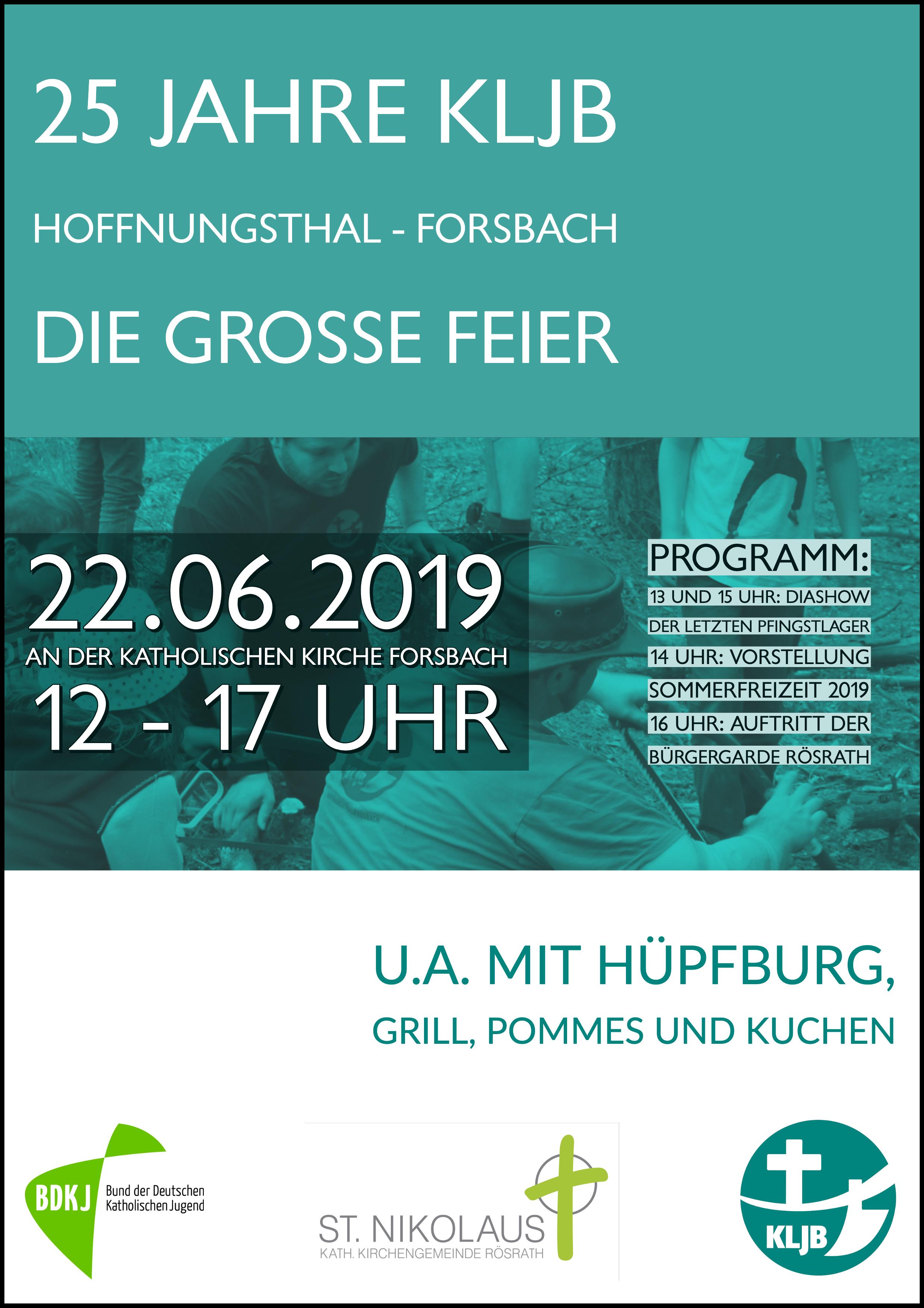 25 Jahre Kljb Hoffnungsthal Forsbach